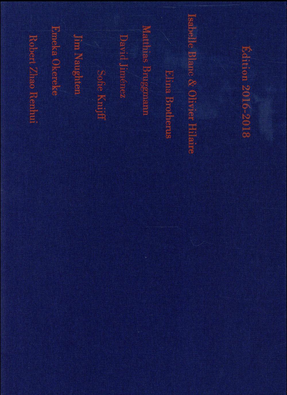 Prix Elysée 2016 ; les nominés