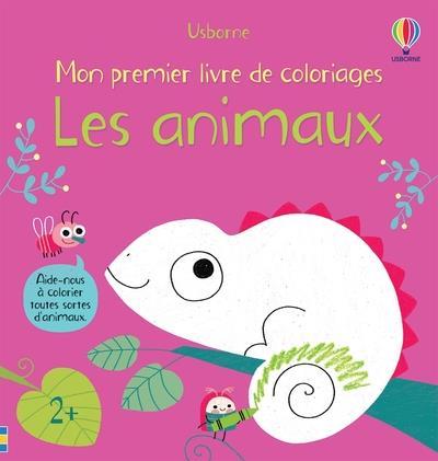 LES ANIMAUX  -  MON PREMIER LIVRE DE COLORIAGES
