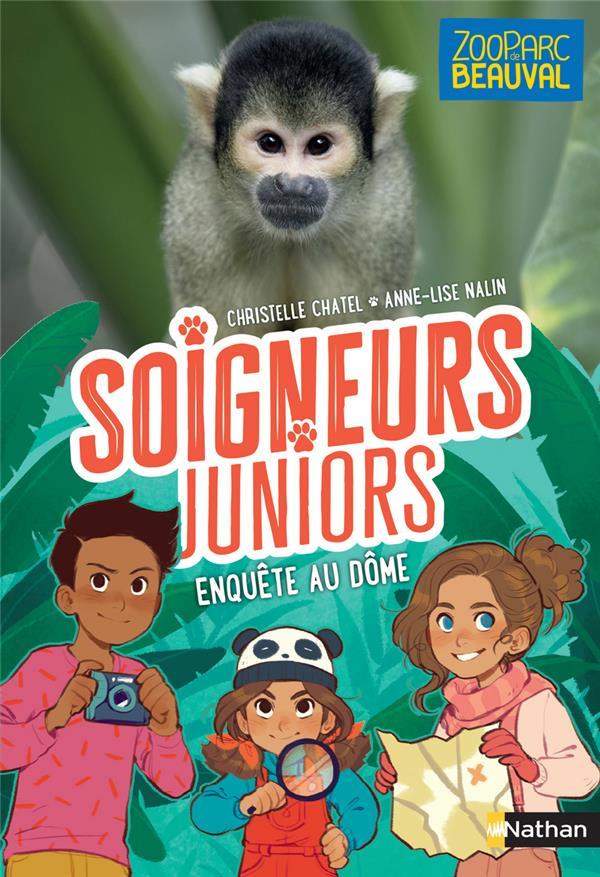 SOIGNEURS JUNIORS T.6  -  ENQUETE AU DOME