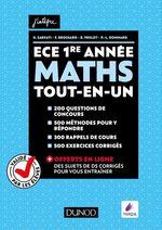 Vente Livre Numérique : Mathématiques ECE  - Olivier Sarfati - Frédéric Brossard - Baptiste Frelot - Paul-Louis Donnard