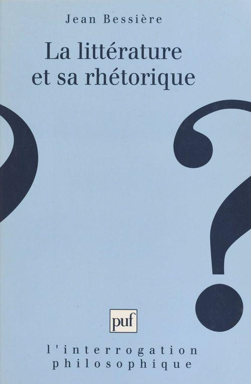 la litterature et sa rhetorique