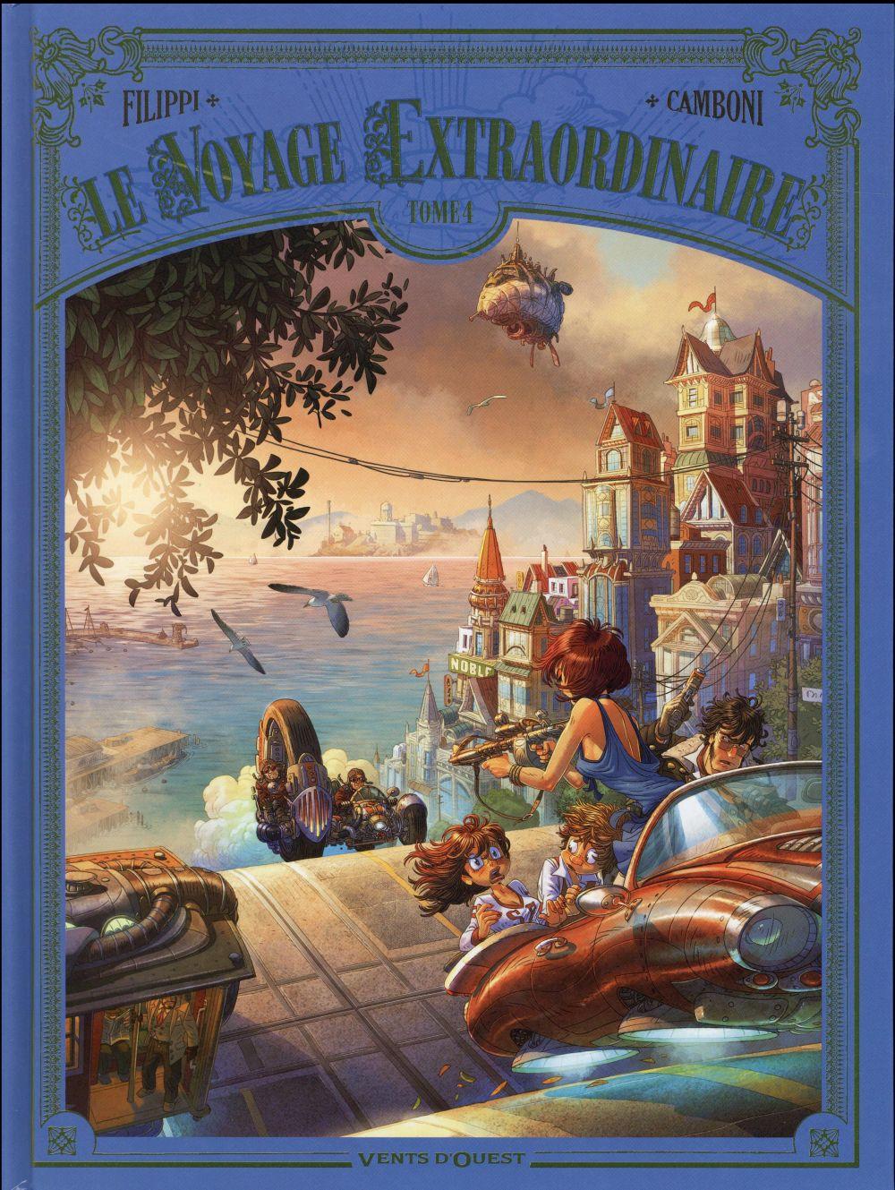 Le voyage extraordinaire T.4 ; les îles mystérieuses t.1