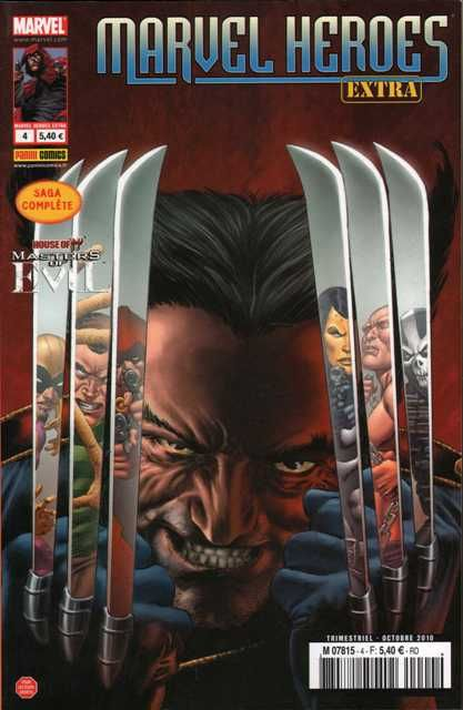 Marvel Heroes - Extra T.4; House Of M ; Les Maitres Du Mal