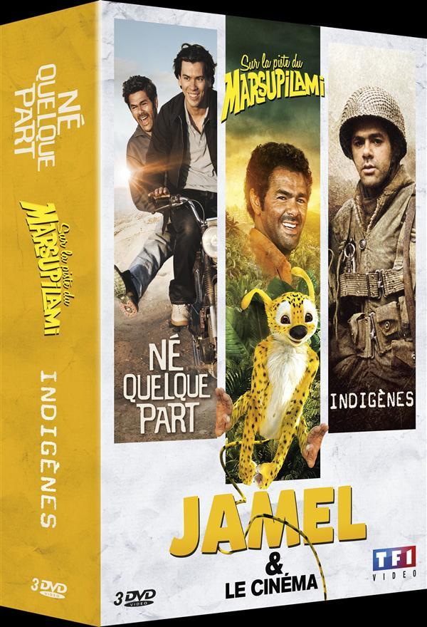 Jamel & le cinéma: Né quelque part + Sur la piste du Marsupilami + Indigènes