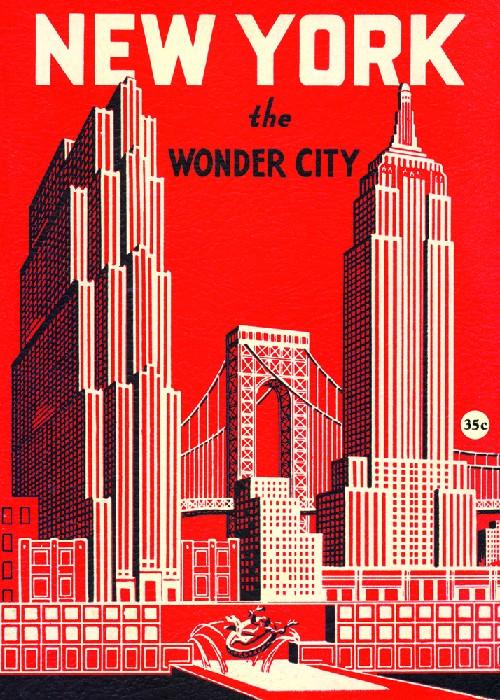 POSTER - AFFICHE CAVALLINI NEW YORK