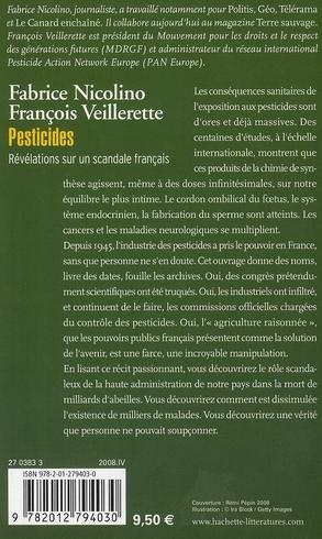 Pesticides ; révlations sur un scandale français