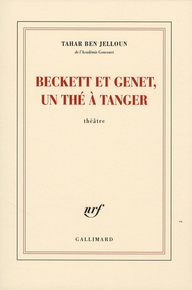Beckett Et Genet, Un The A Tanger