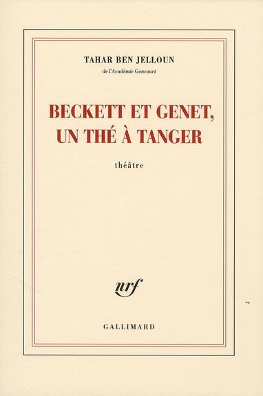 Beckett Et Genet, Un The A Tanger