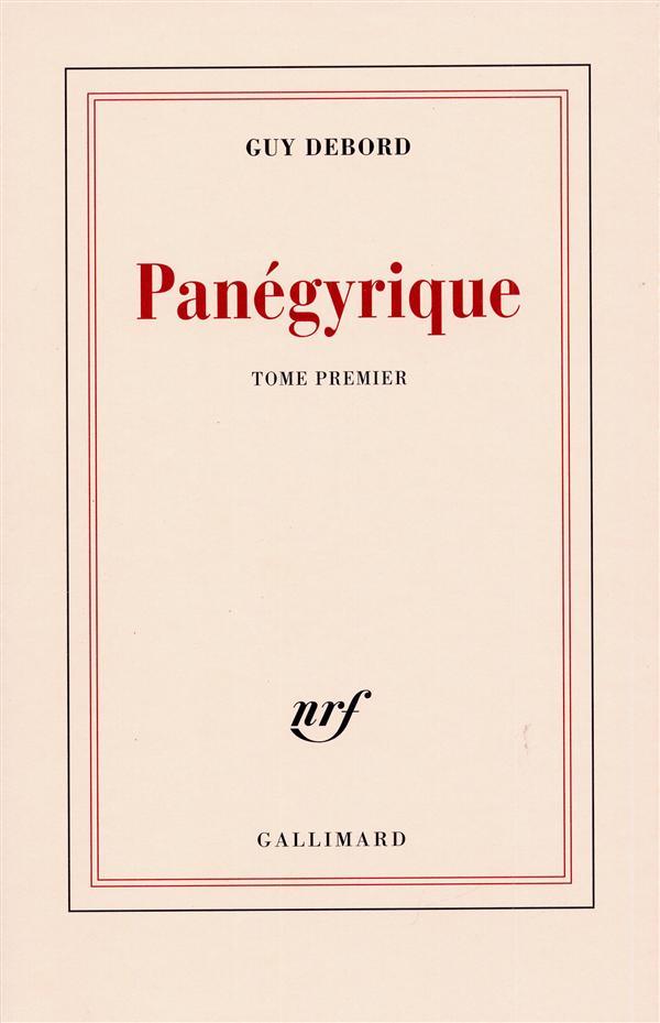 Panegyrique (tome 1)