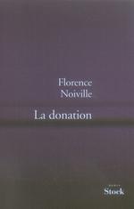 Couverture de La donation