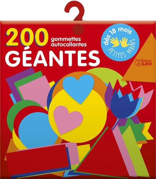 200 gommettes géantes pour les tout-petits