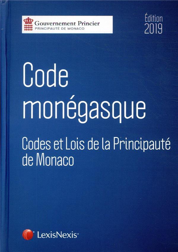 Code monégasque (édition 2019)