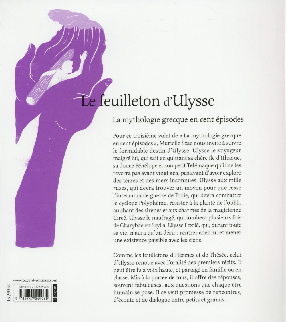 Le feuilleton d'Ulysse ; la mythologie grecque en cent épisodes