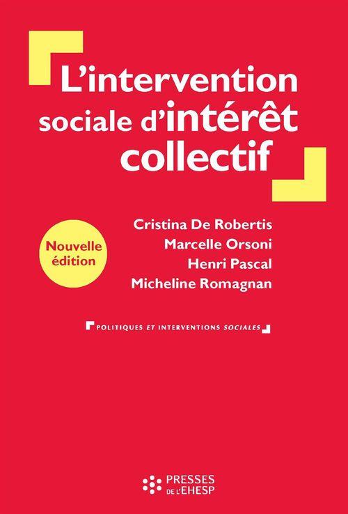 L'intervention sociale d'interet collectif : de la personne au territoire