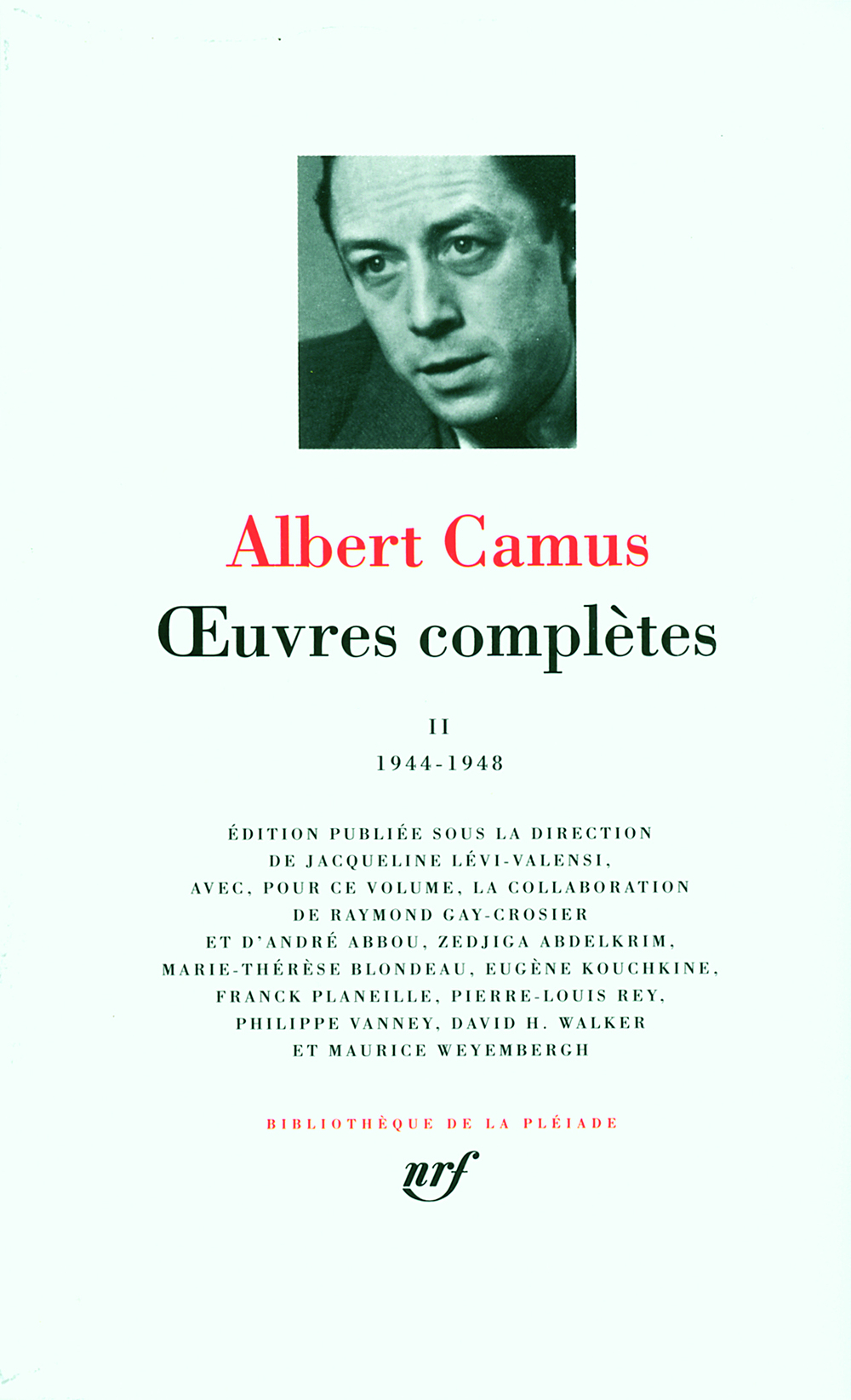 Oeuvres complètes (1944-1948) t.2