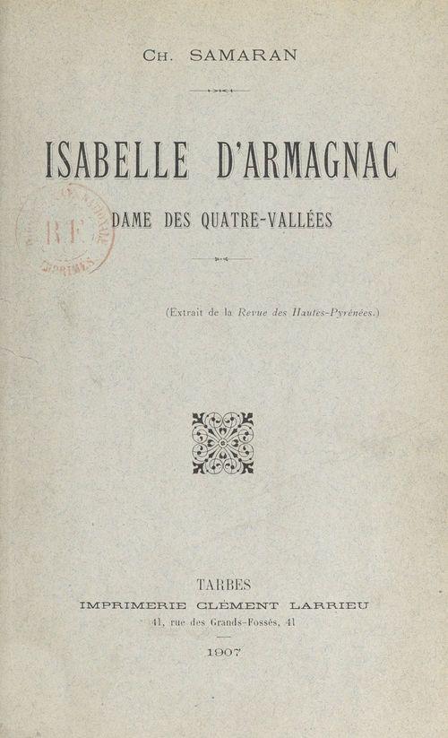 Isabelle d'Armagnac
