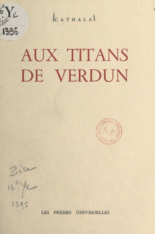 Aux titans de Verdun