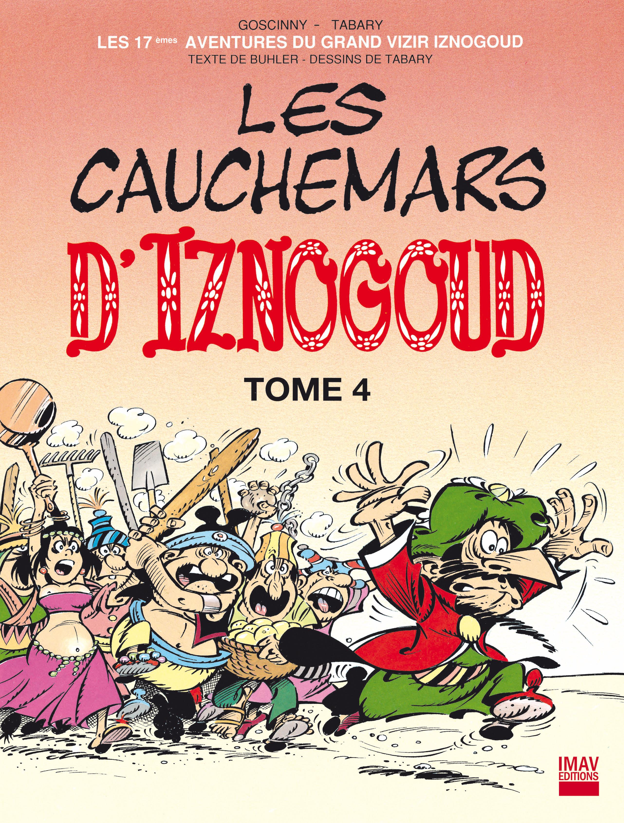 Iznogoud - tome 17 - Les cauchemars d'Iznogoud 4