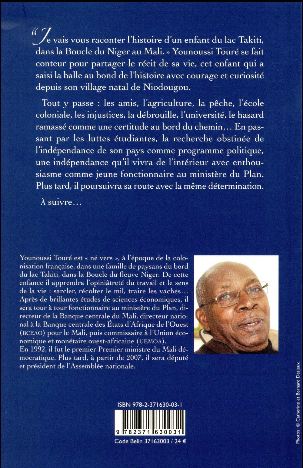 Younoussi Touré ; l'enfant du lac Takiti au Mali
