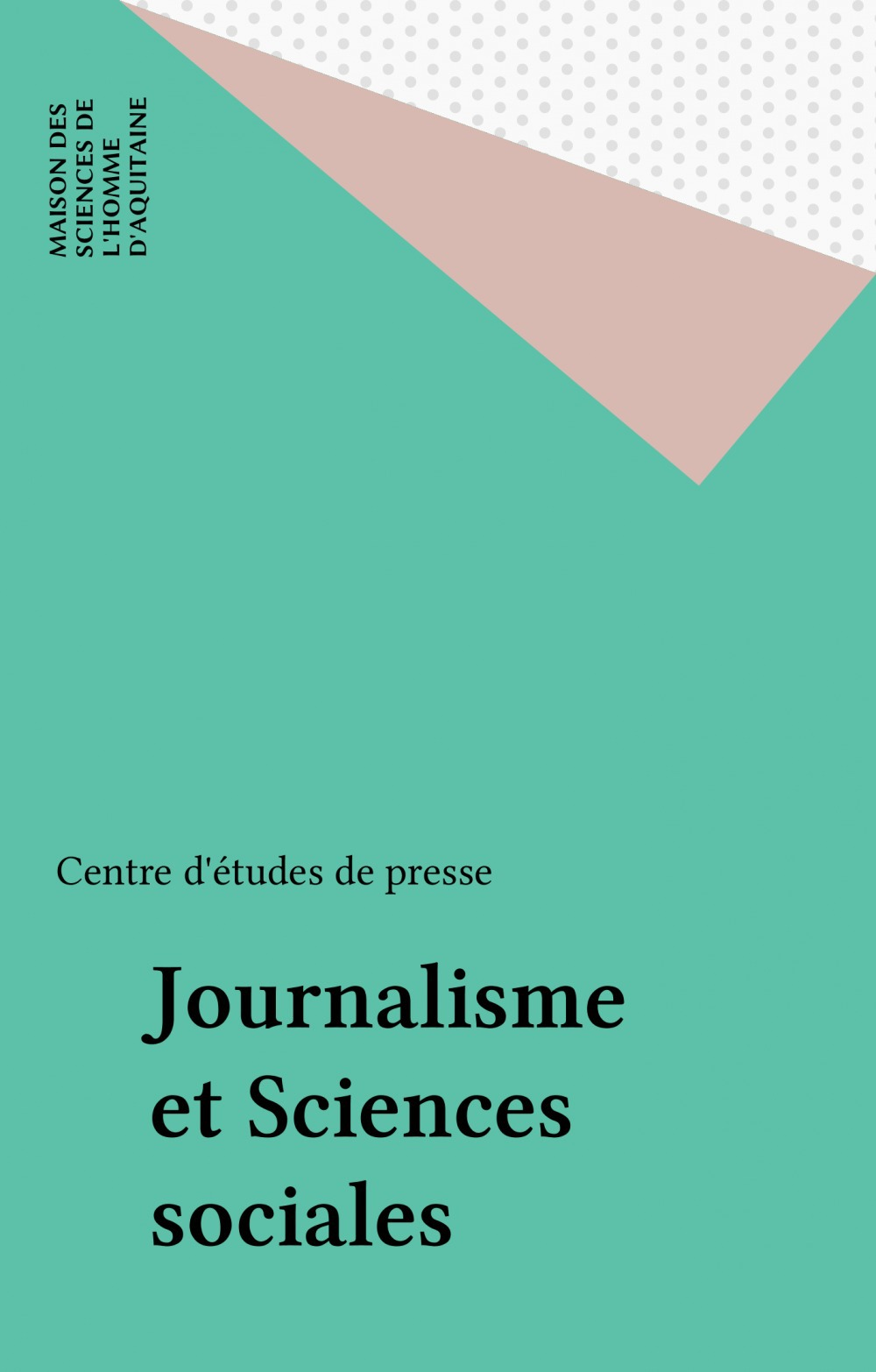 Journalisme et Sciences sociales