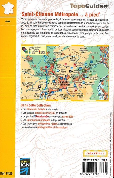 Saint-Etienne métropole... à pied
