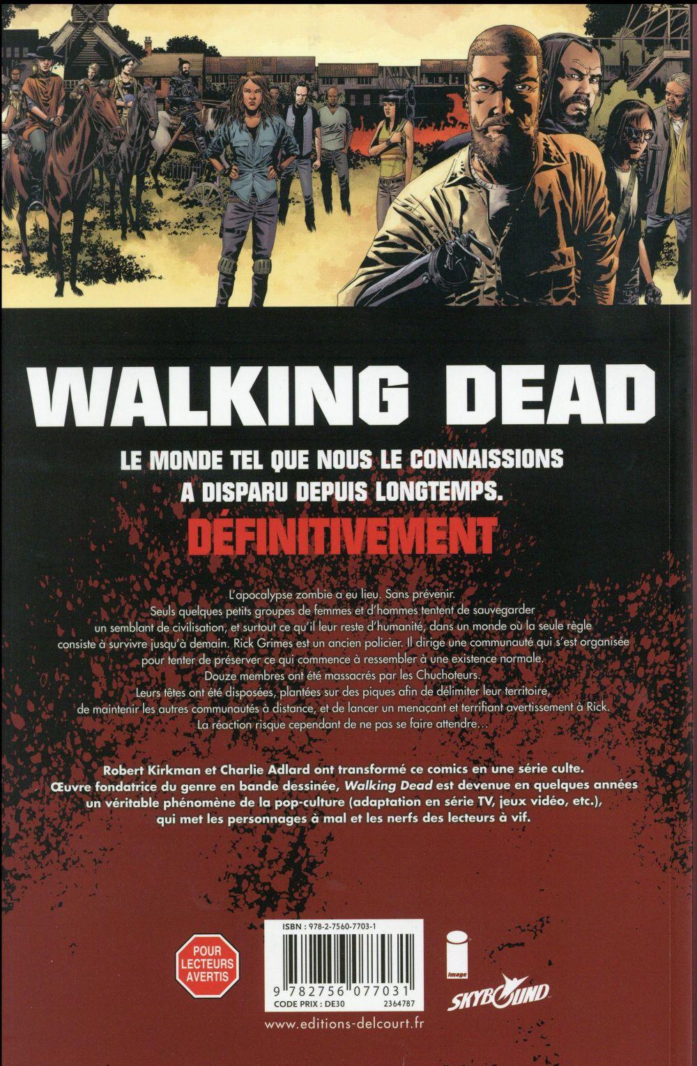 Walking dead T.25 ; sang pour sang