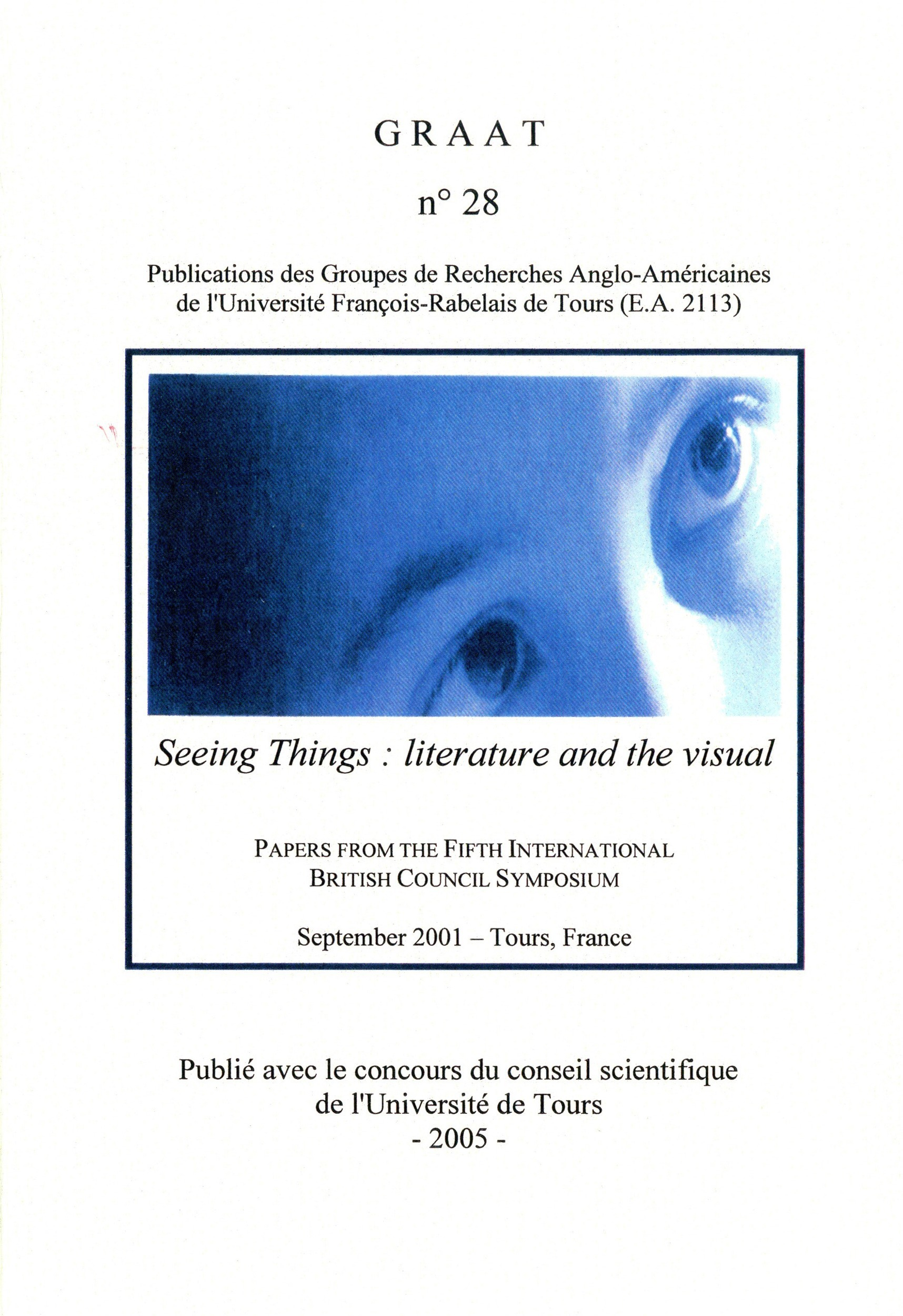 Seeing things literature and the visual