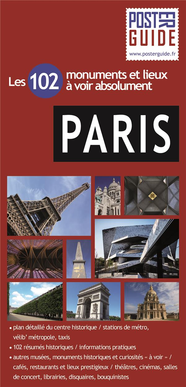 Paris ; poster guide