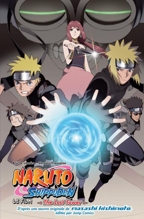 Naruto Shippuden T.4 ; the lost tower