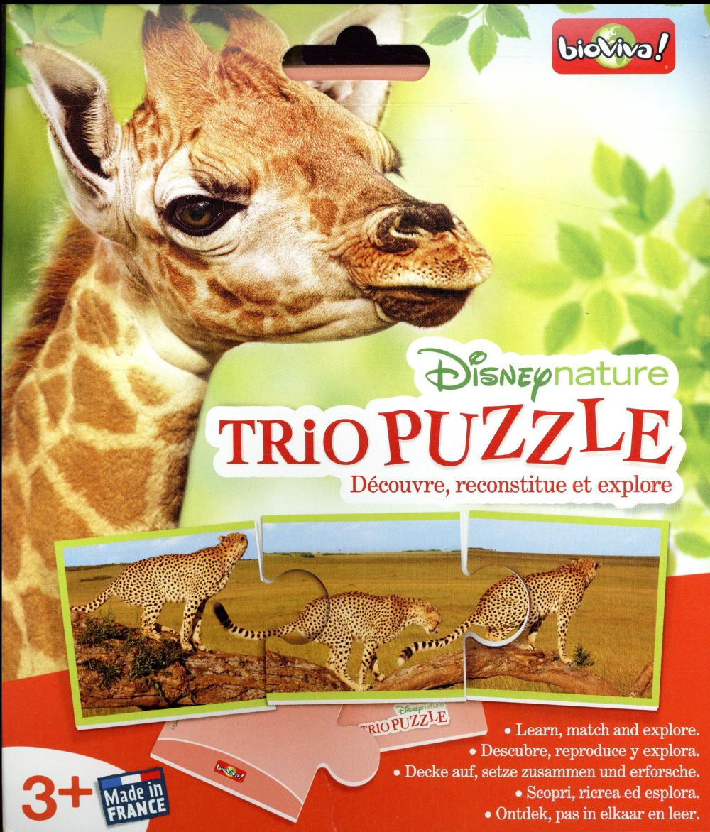 Disney nature ; trio puzzle