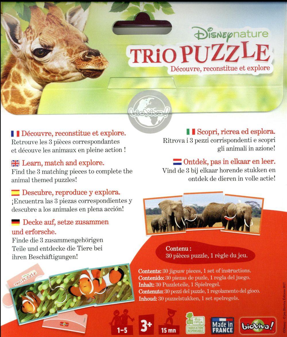 Disney nature ; trio puzzle