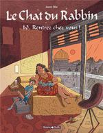 Couverture de Le Chat Du Rabbin - T10 - Le Chat Du Rabbin  - Rentrez Chez Vous !