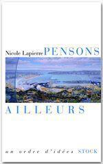 Vente EBooks : Pensons ailleurs  - Nicole Lapierre