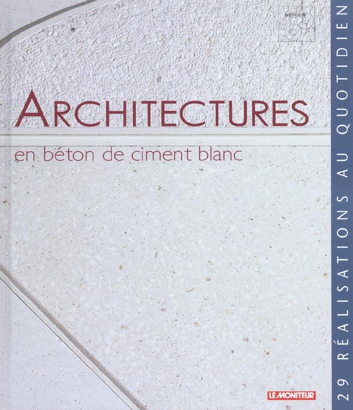 Architecture En Beton De Ciment Blanc
