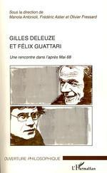 Vente Livre Numérique : Gilles Deleuze et Félix Guattari  - Manola Antonioli - Frédéric Astier - Olivier Fressard