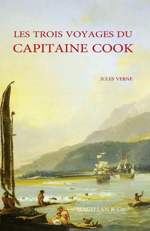 Les trois voyages du capitaine cook  - verne jules