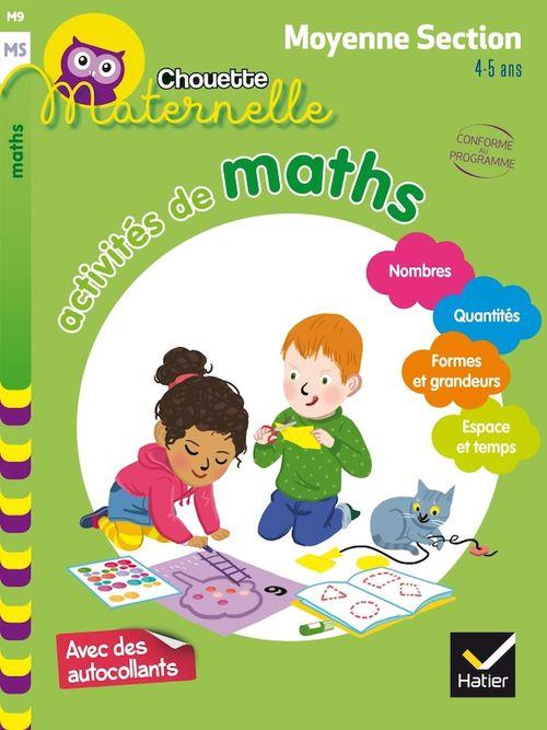 Chouette maternelle ; activités de maths ; moyenne section