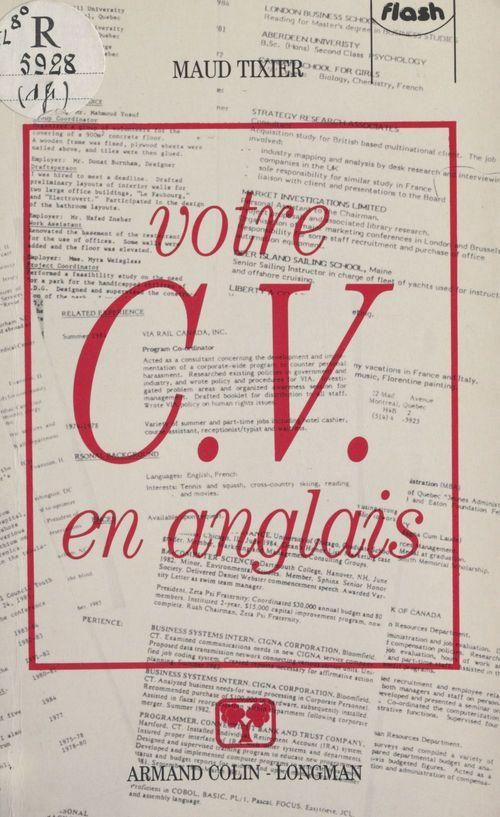 Votre C.V. en anglais