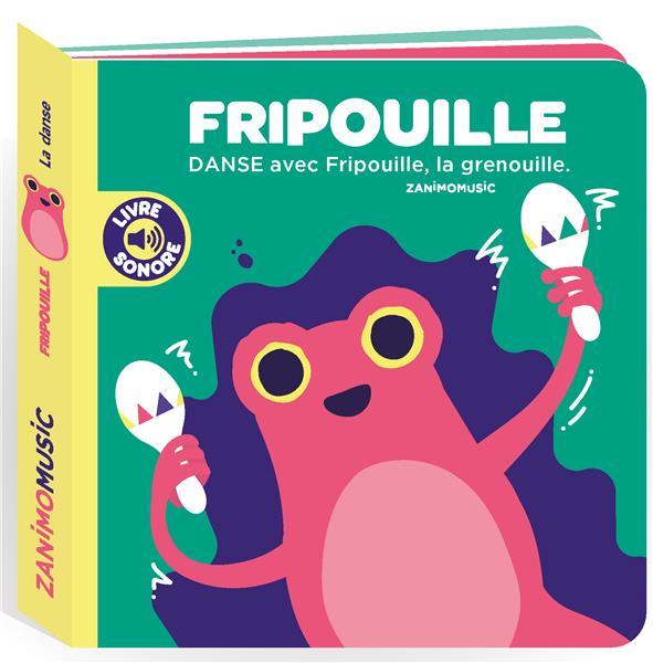 Zanimomusic ; Fripouille ; danse avec Fripouille, la grenouille