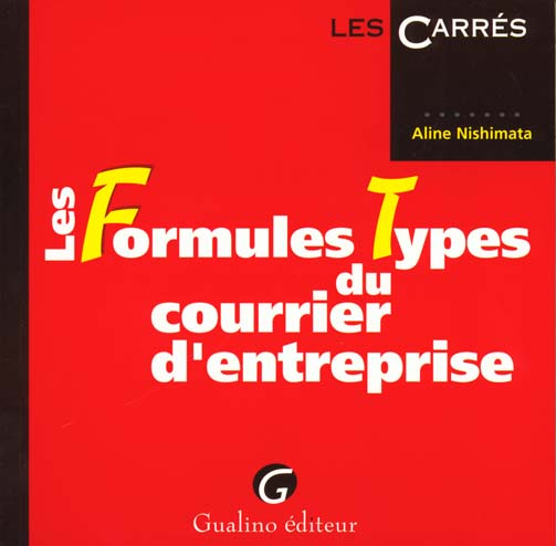 Formules types courrier entrep