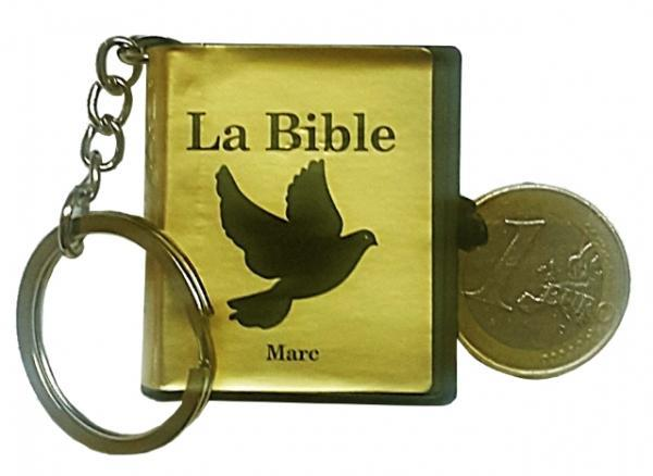 MINI BIBLE PORTE-CLES EVANGILE DE MARC