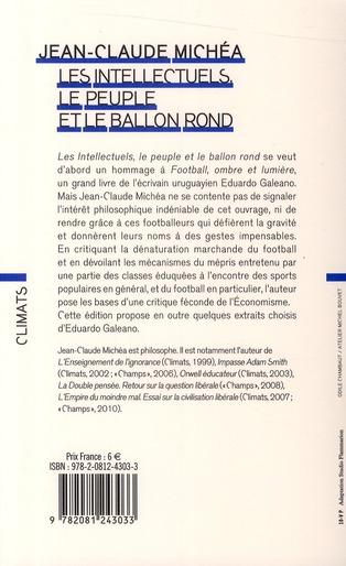 Les intellectuels, le peuple et le ballon rond (édition 2010)