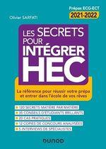 Vente Livre Numérique : Les secrets pour intégrer HEC - 4e éd.  - Olivier Sarfati