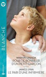 Vente EBooks : Pour le bonheur d'un petit garçon - Le pari d'une infirmière  - Janice Lynn - Marion Lennox