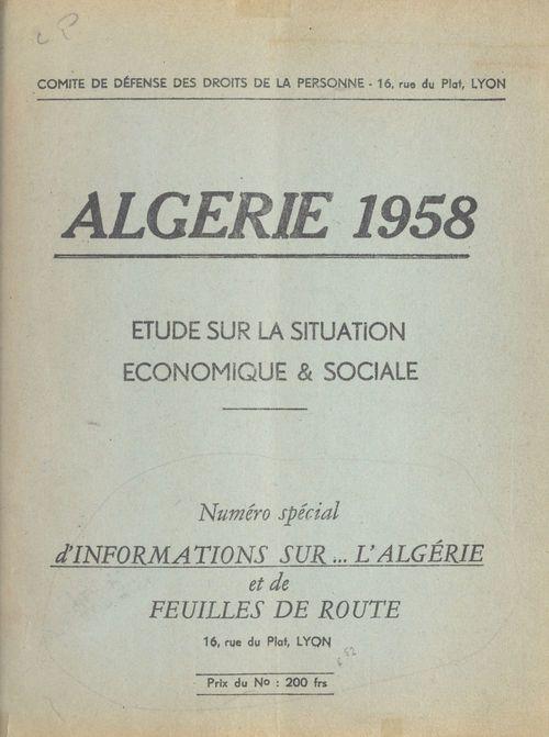 Algérie 1958