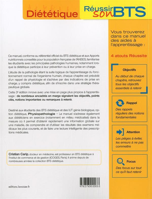 Physiopathologie ; le manuel (3e édition)