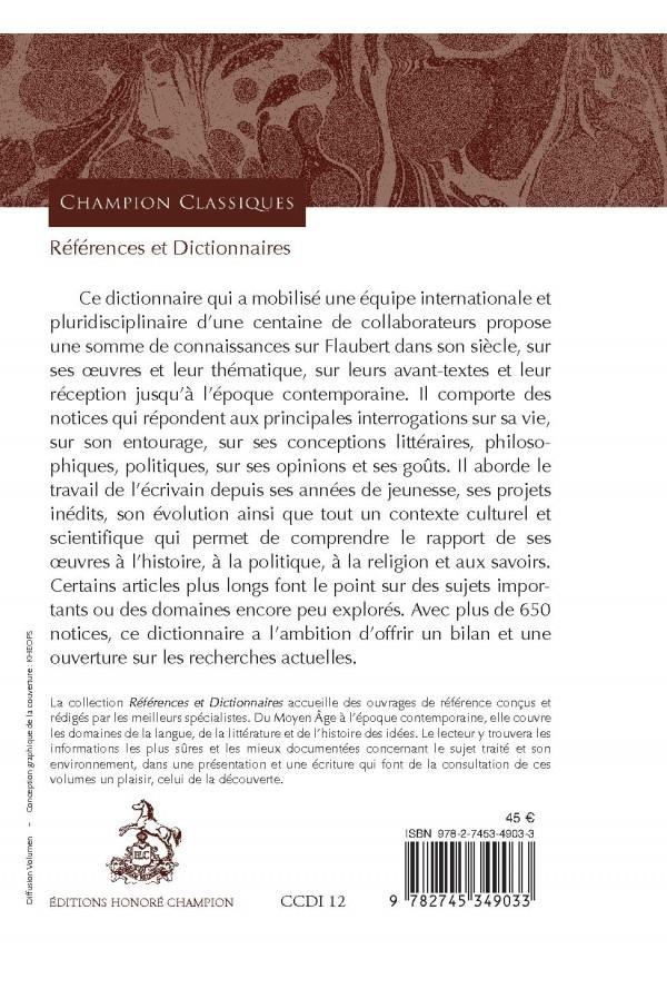 Dictionnaire Flaubert