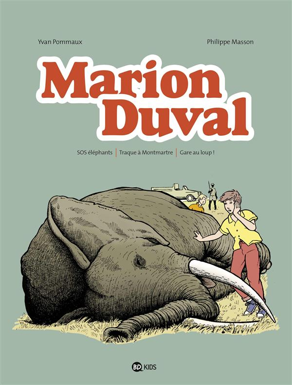 MARION DUVAL  -  INTEGRALE VOL.4  -  T.10 A T.12 Masson Philippe