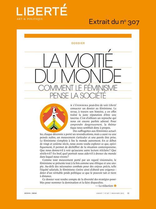 Revue Liberté 307 - Dossier - La moitié du monde