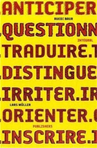 Ruedi baur integral anticiper questionner